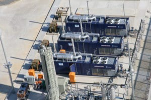 Three (3) Dresser-Rand Power Generation Packages Installed at Site